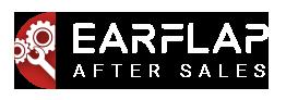 Logotipo Ear Flap aftersales, post venta.