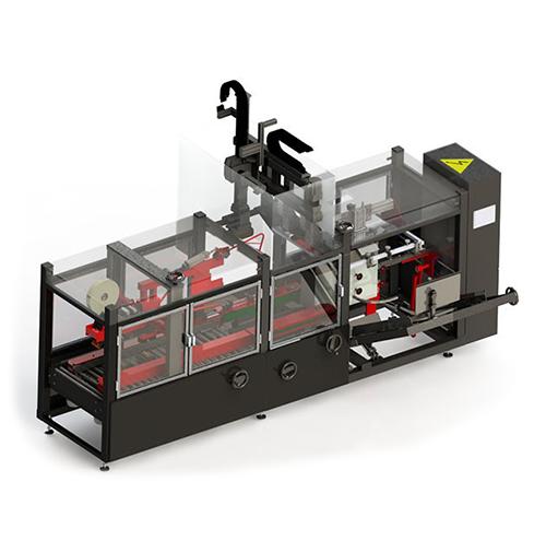 Sistema de formado, encajado Pick and Place y cerrado de cajas automático monobloque BPP800