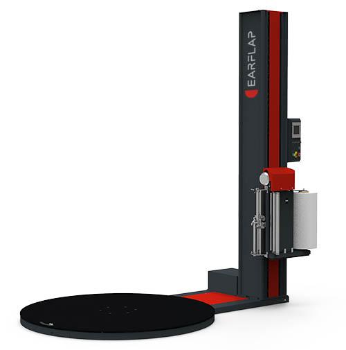 Envolvedora, enfardadora, enplayadora semiautomática de plataforma giratoria modelo 300