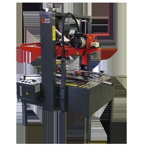 Máquina de precintado - cerrado semiautomática de cajas monoformato con bandas transportadoras arriba y abajo modelo P15UD