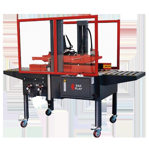 Cerradora - precintadora semiautomática de cajas multiformato modelo P25