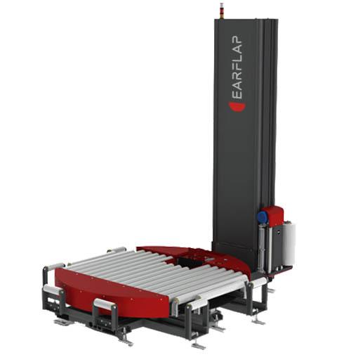 Envolvedora, enfardadora, emplayadora de plataforma giratoria en línea modelo TRM1500